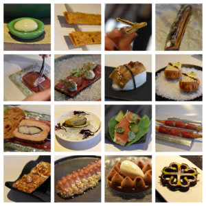 A sample of the different tapas served in Tickets.